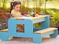 child picnic table 200x150 Free Outdoor Furniture Plans Help You Create Your Own Backyard Oasis