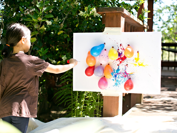 diy-balloon-dart-painting