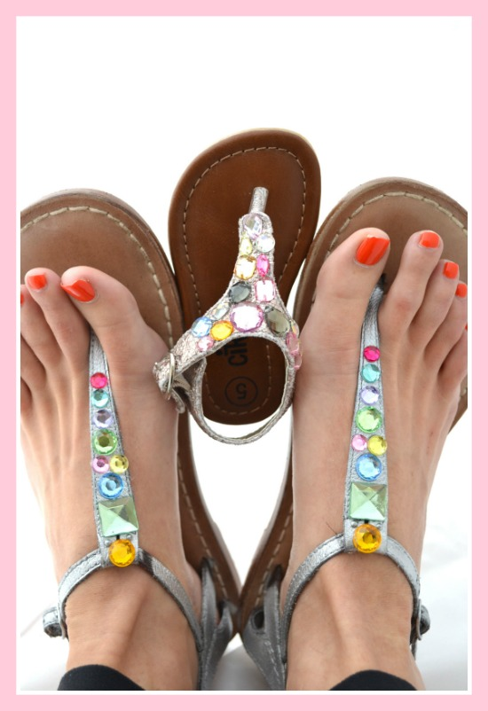 jewelled-flip-flops