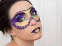 makeup mardi gras mask 200x150 11 Easy DIY Projects to Help You Celebrate Mardi Gras