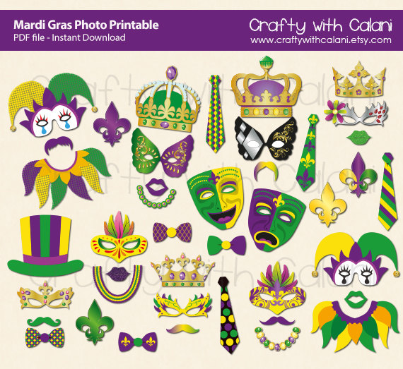 mardi gras photo booth