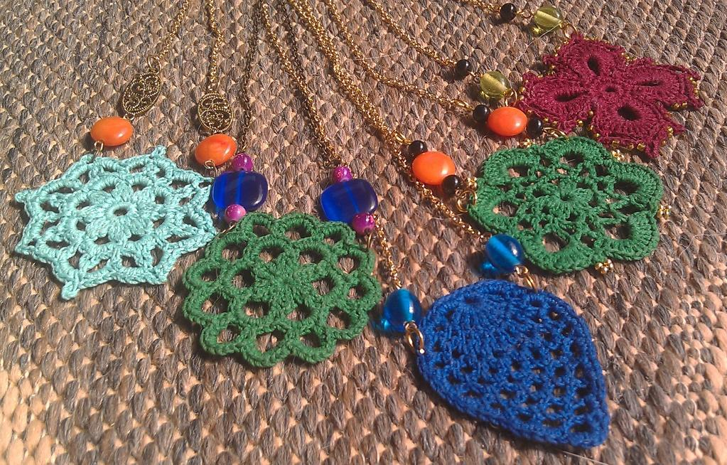 Crocheted Jewelry Far More Special Than Anything In Stores