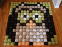 owl bubble quilt 200x150 15 Cozily Irresistible Bubble Quilt Patterns