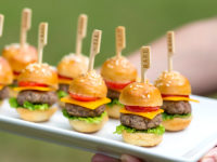 party food mini cheeseburgers 200x150 13 Delicious Appetizers for Your Next Awesome Party!