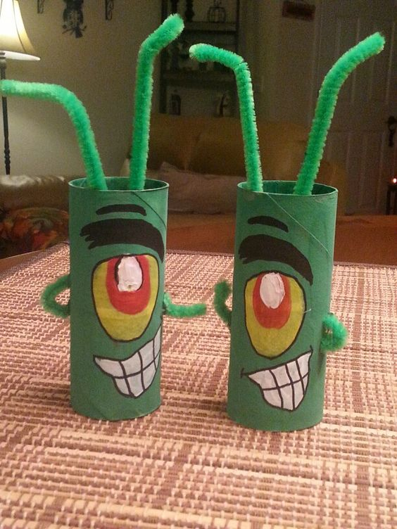 Your Child Will Be Amazed By These Spongebob Crafts And