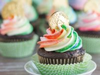pot of gold cupcakes 200x150 14 Fun and Festive Ideas for Your St. Patricks Day Celebrations