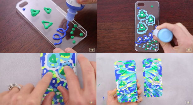 How To Make Puffy Paint With Acrylic Paint