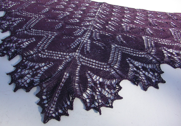 Gorgeously Intricate Lace Shawls For Advanced Knitters