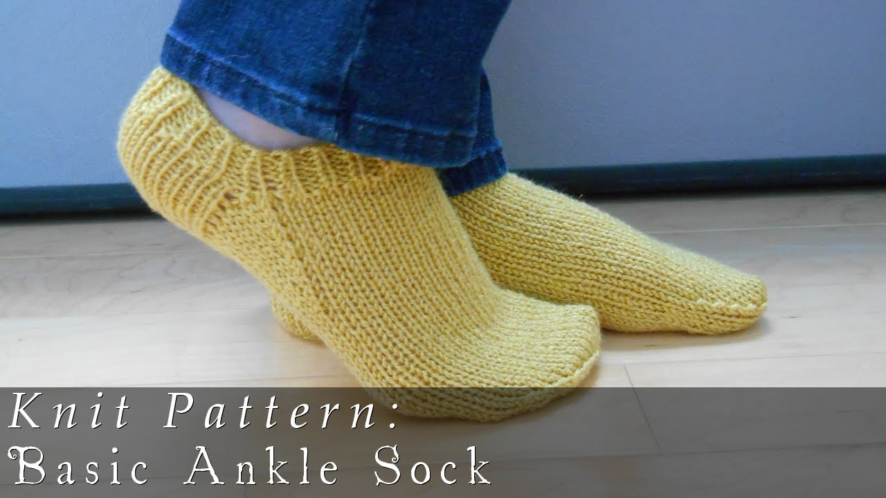 Basic ankle sock