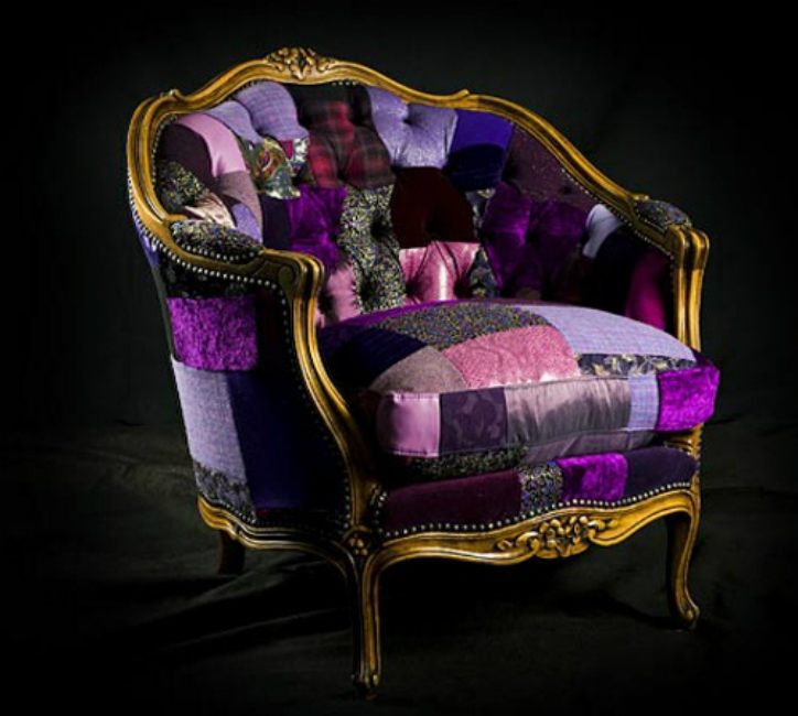 Beautiful Patchwork Chair