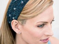 Beautiful beaded knitted headband 200x150 Knitted Headbands for Every Time of the Year
