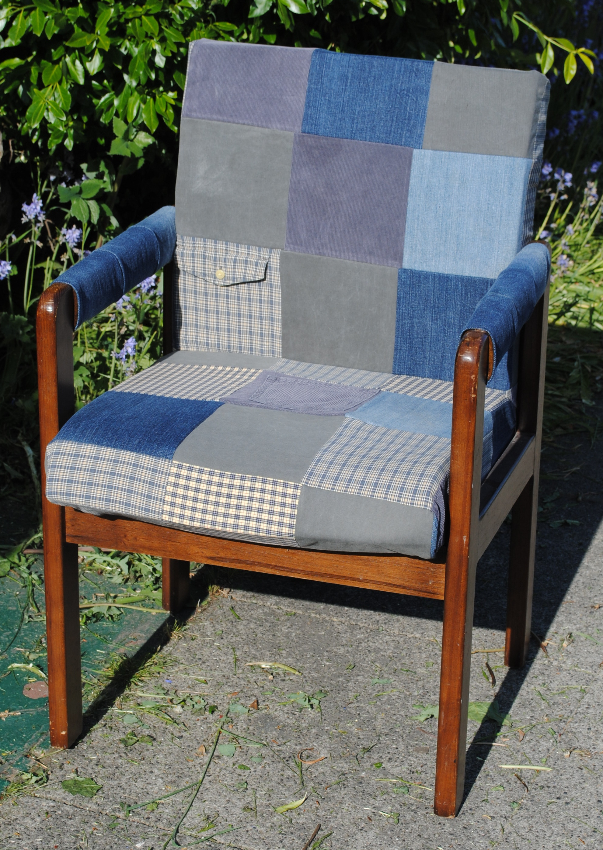 Beginner Patchwork Chair Cover