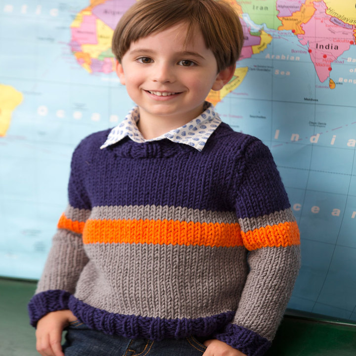Diy Knitted Children S Cardigan Patterns