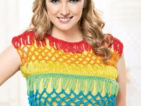 Broomstick crochet crop 200x150 Gorgeous Crochet Crop Tops for Summer