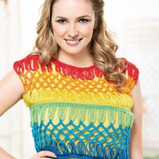 Gorgeous Crochet Crop Tops for Summer