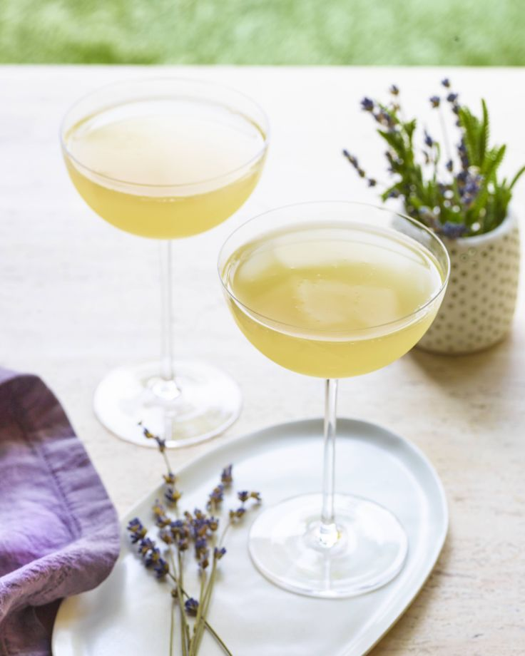 Chandon Lavender cocktail
