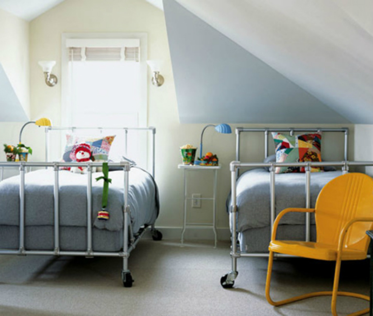 Children's Pipe Bed