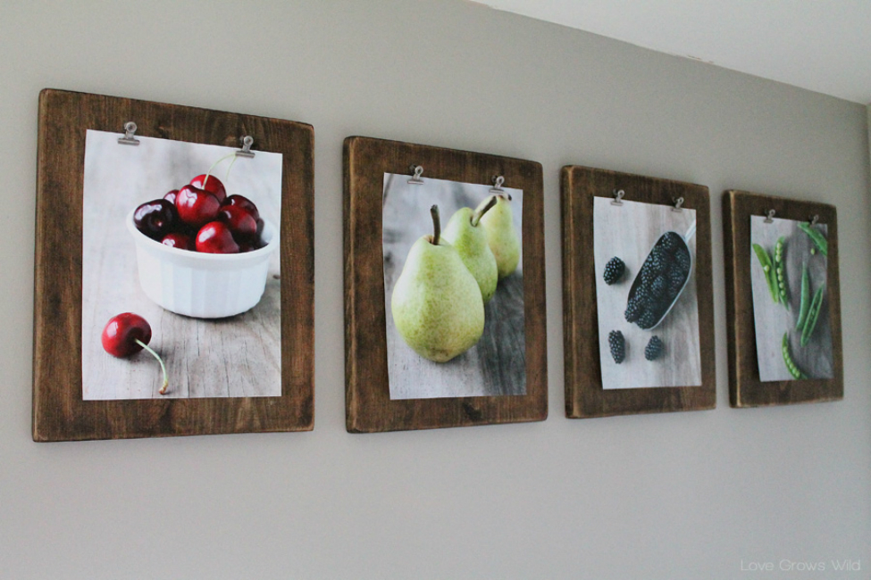 Clipboard Photo Frames