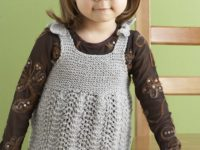 Cute Knit Tunic Dress 200x150 Beautiful Dresses to Make for Your Daughter