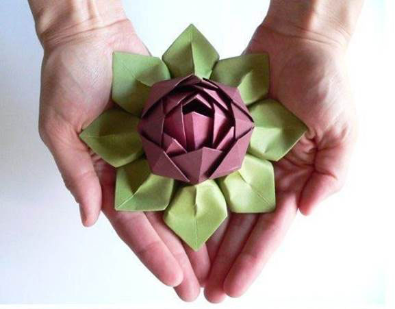 DIY-Origami-Lotus-Flower-2