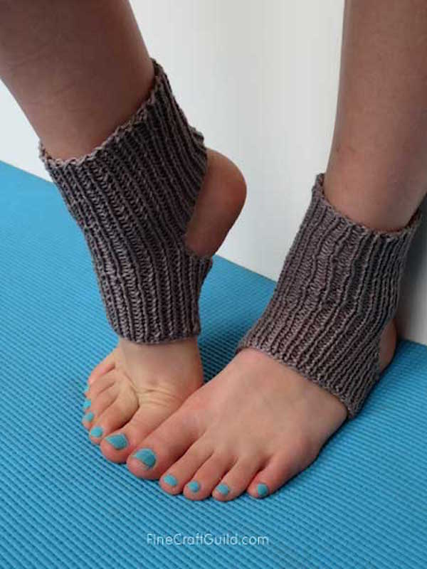 DIY Yoga Socks