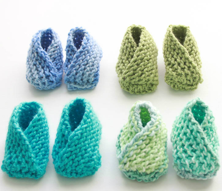 Keep Your Children\'s Feet Warm with These Knitted Slipper Ideas