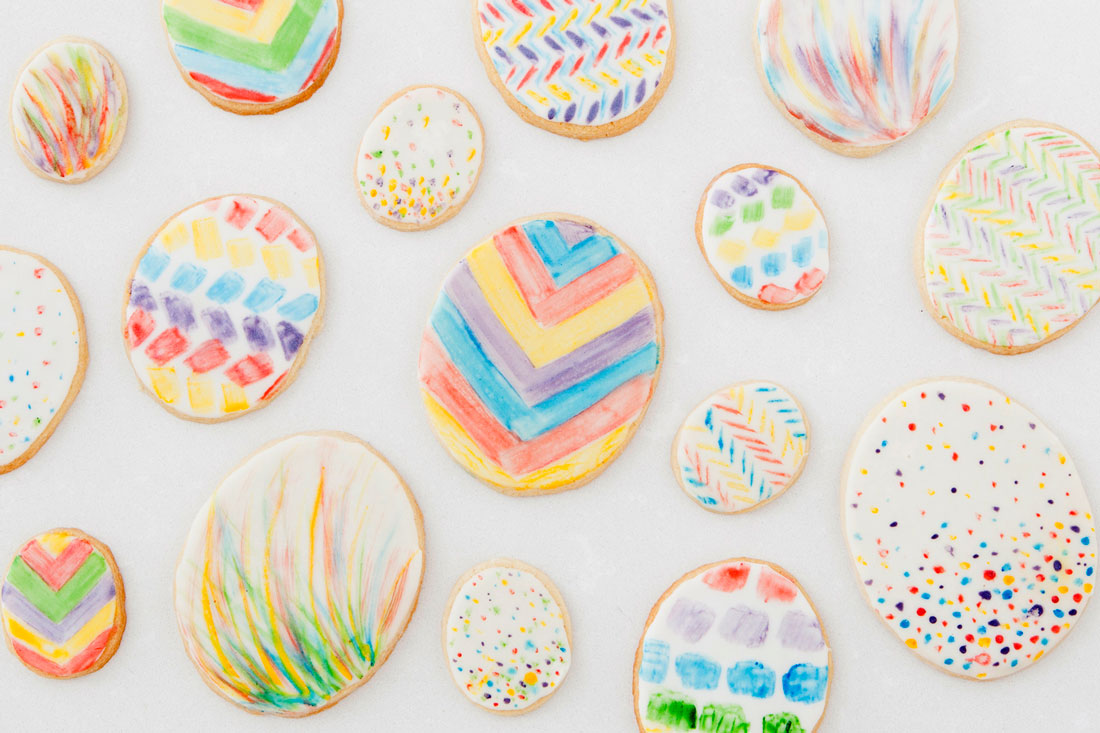 Edible marker cookies