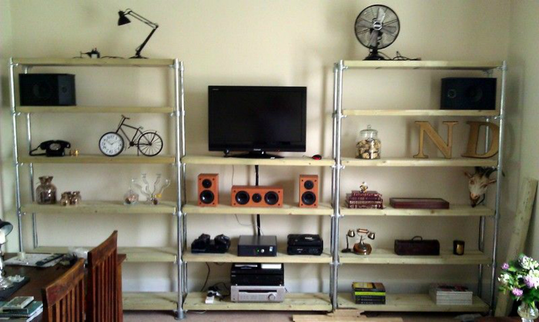 Entertainment Shelving