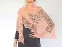 Evanston shawl 200x150 Gorgeously Intricate Lace Shawls for Advanced knitters