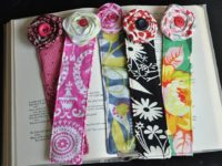 Fabric Bookmarks 200x150 A Fun Read: DIY Bookmarks Any Bookworm Would Adore