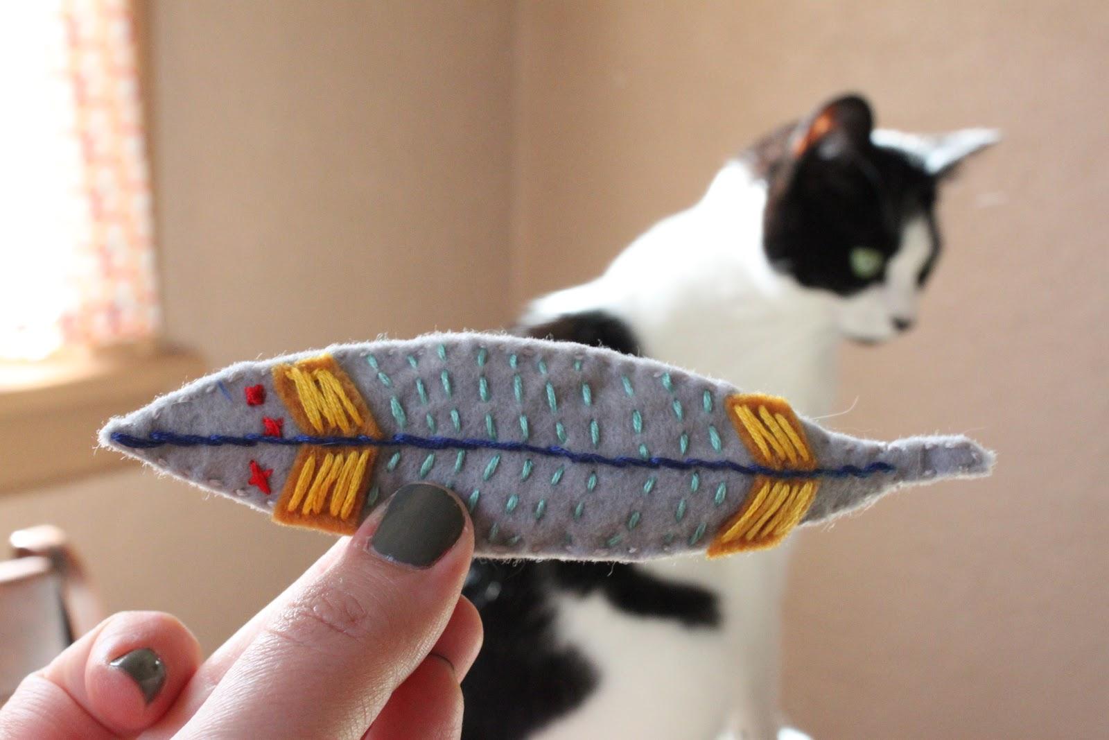 Felt Cat Toys