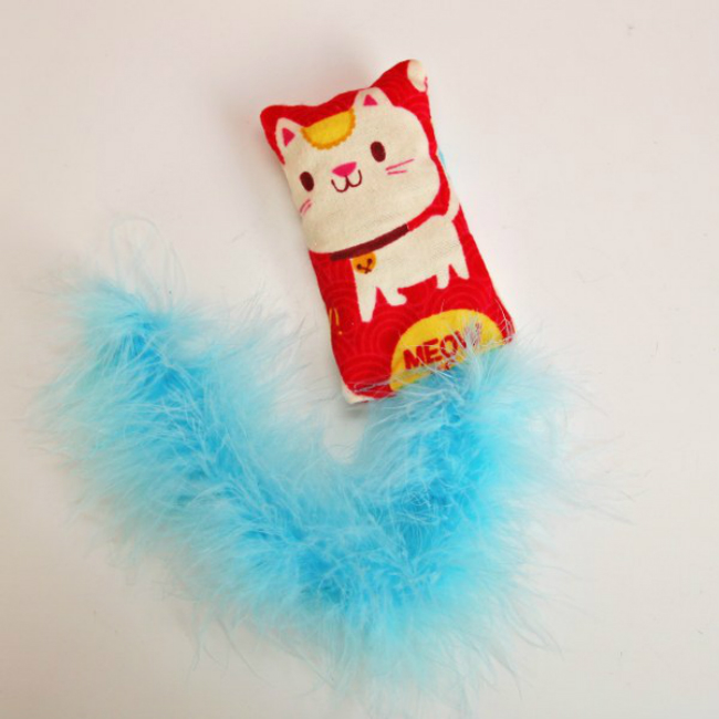 Fluffy Cat Toy
