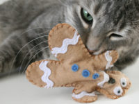 Gingerbread Cat Toy 200x150 Fun and Easy DIY Cat Toys to Make for Your Favourite Feline