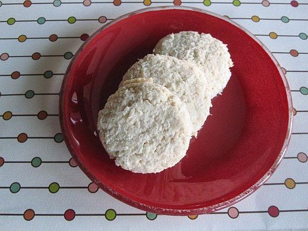 Gluten free vegan coconut cookies