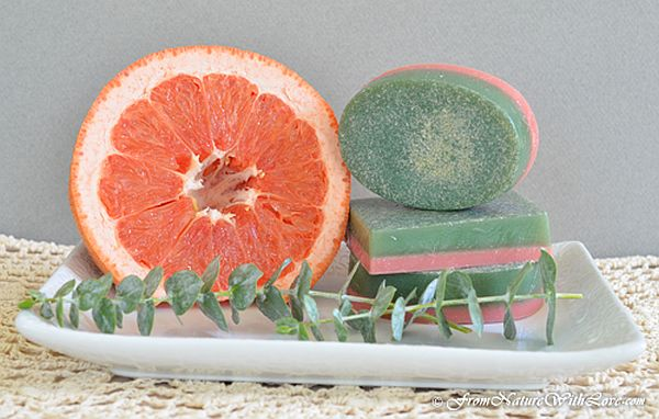 Grapefruit Eucalyptus Soap