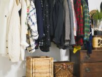 Hanging Pipe Clothing Rack 200x150 Smart DIY Tricks to Organising Your Wardrobe Space