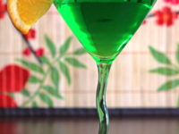 Honeydew martini 200x150 15 St. Patricks Day Cocktail Recipes for Non Beer Drinkers