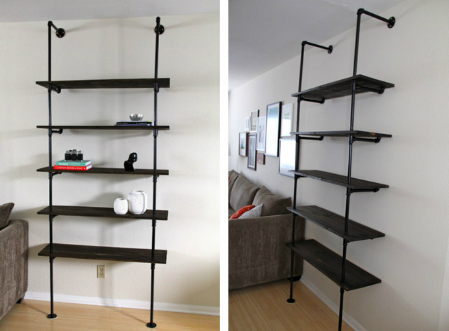 Industrial Book Shelving