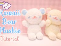 Kawaii bear plushie 200x150 DIY Projects for Kawaii Lovers