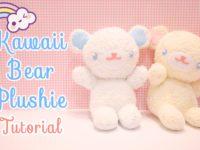 Kawaii bear plushie 200x150 DIY Projects for Kawaii Lovers