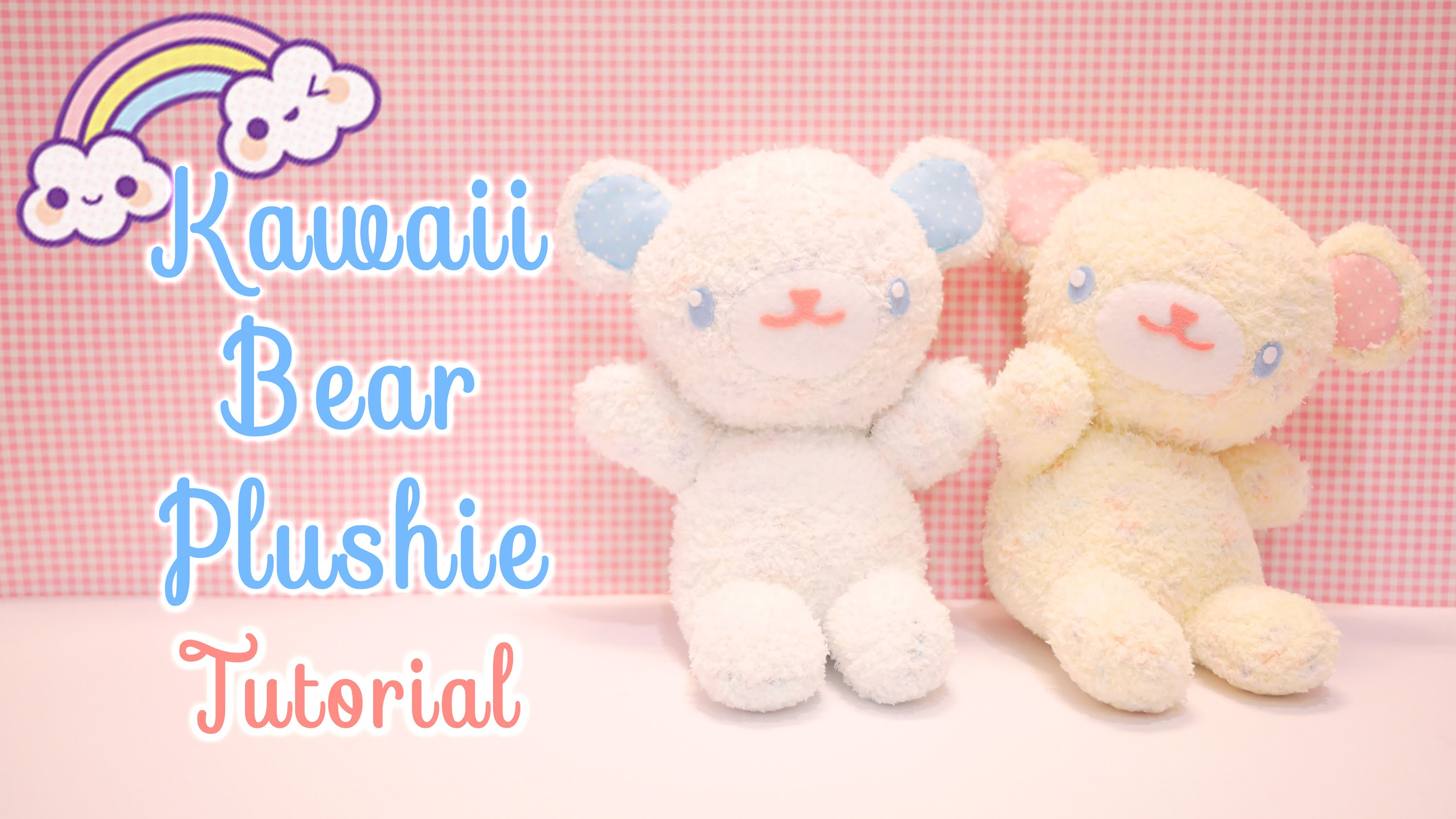 Kawaii bear plushie