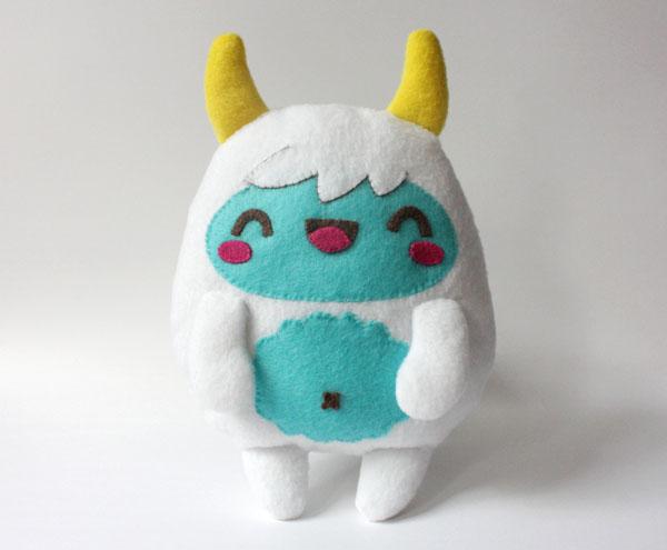 Kawaii yeti plushie