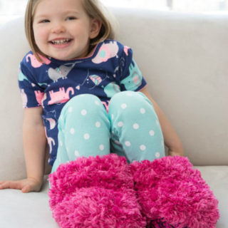Keep Your Children's Feet Warm with These Knitted Slipper Ideas