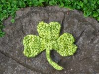 Knitted Shamrocks 200x150 10 Knitted St. Patrick Day Ideas