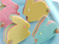 Layered pastel bunnies 200x150 Must Try: 15 Adorable Easter Cookie Decorating Ideas