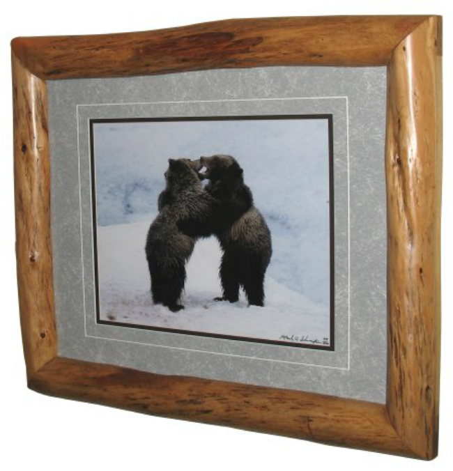 Log Photo Frame