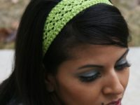 Lovely loom knit headband 200x150 Knitted Headbands for Every Time of the Year