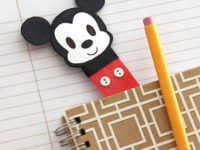 Mickey Mouse bookmark 200x150 A Fun Read: DIY Bookmarks Any Bookworm Would Adore