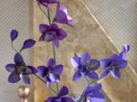 Paper Orchids DIY 560x755 200x150 How to Make Paper Flowers in 10 Different Ways