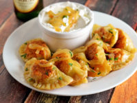 Philly cheesesteak perogies 200x150 15 Awesome Recipes That Take Perogies to the Next Level
